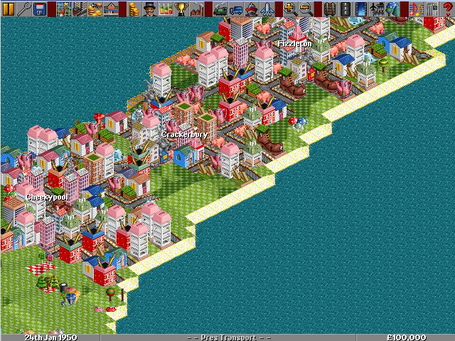 Transport Tycoon Deluxe