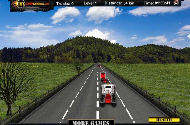 3D гонки грузовиков