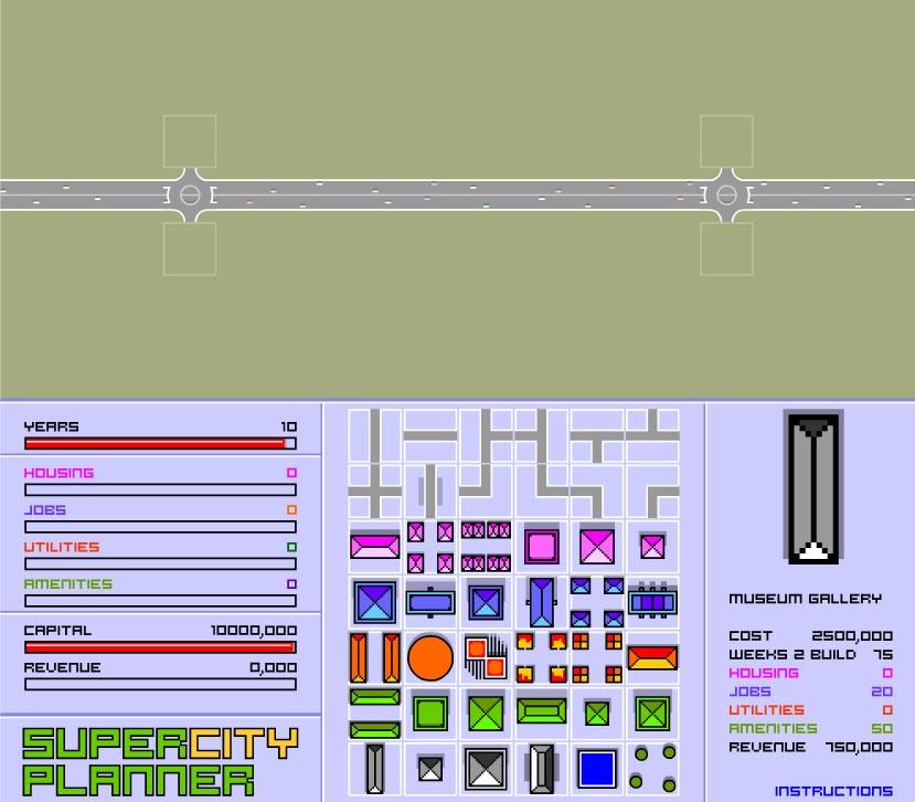 Super City Planner