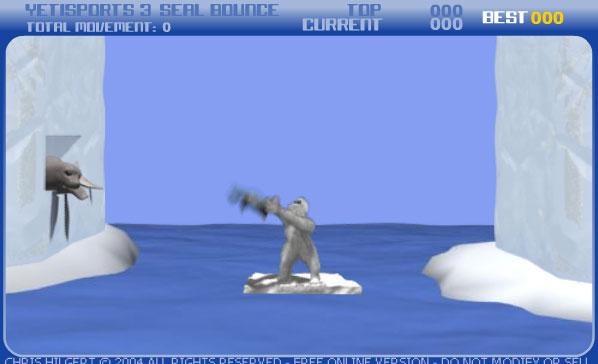 Снежный человек в Антарктике