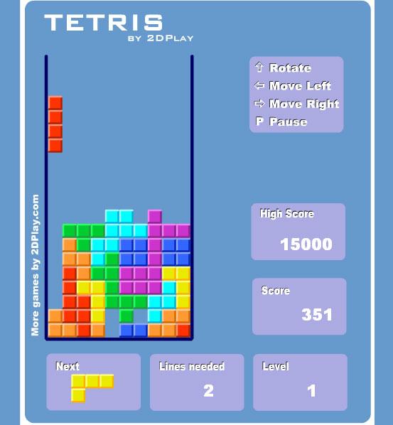 Тетрис 9