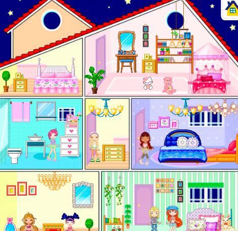 Кукольный домик Winx