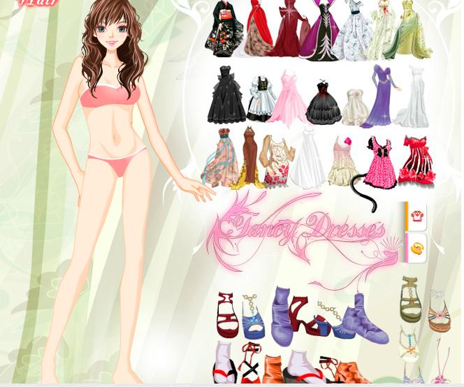 Одень Барби принцессу