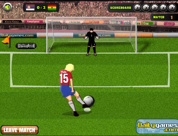 Игра онлайн футбол играть